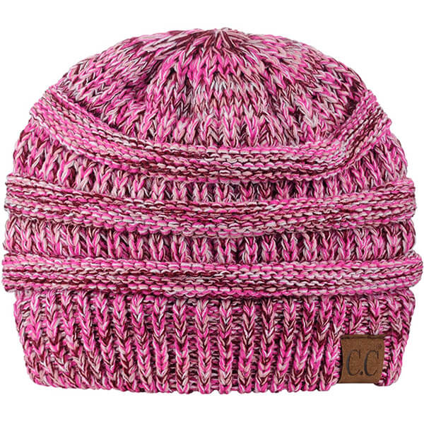 C.C Warm Chunky Cable Knit Beanie