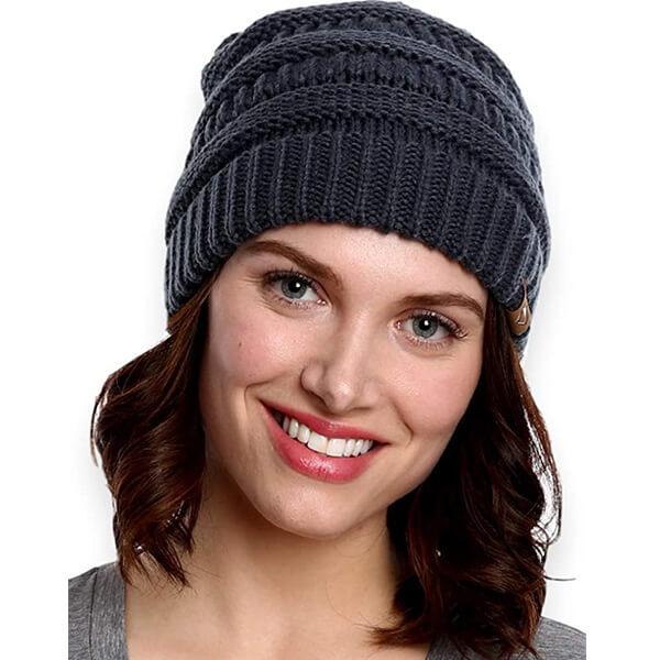 All-Season Cable Knit Beanie