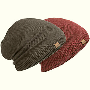 REDESS Slouchy Long Oversized Beanie Hat for Women and Men