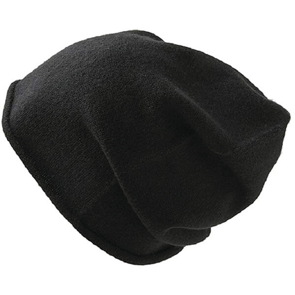 Lightweight 100% Pure Cashmere Beanie Hat for Women