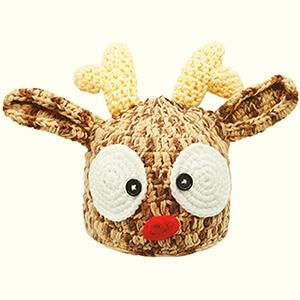 Cute Reindeer Beanie