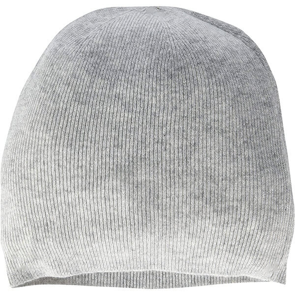 Slouched or Cuffed Pure Cashmere Beanie Hat for Men