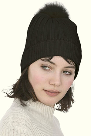 Cashmere Women's Real Cashmere Beanie