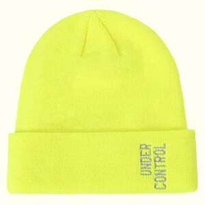 Knitted and Cuffed Unisex beanie hat