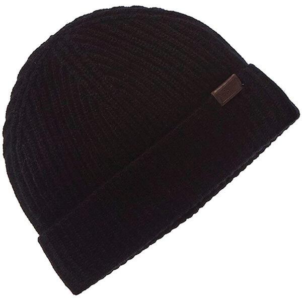 Men's Knit Italian Cashmere Beanie Hat
