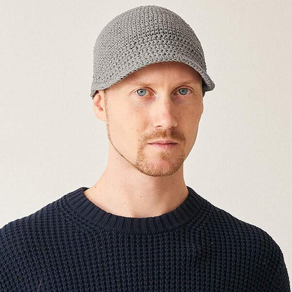 Brimmed Cotton Chemo Hat for Sensitive Skin