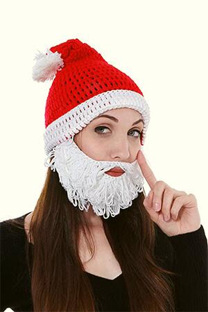 Crazy Crochet Santa Beanie