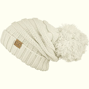Slouchy with a touch of Pom Pom