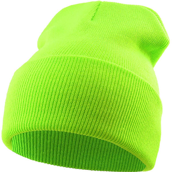 Thick and Warm Neon Beanie for Men and Women