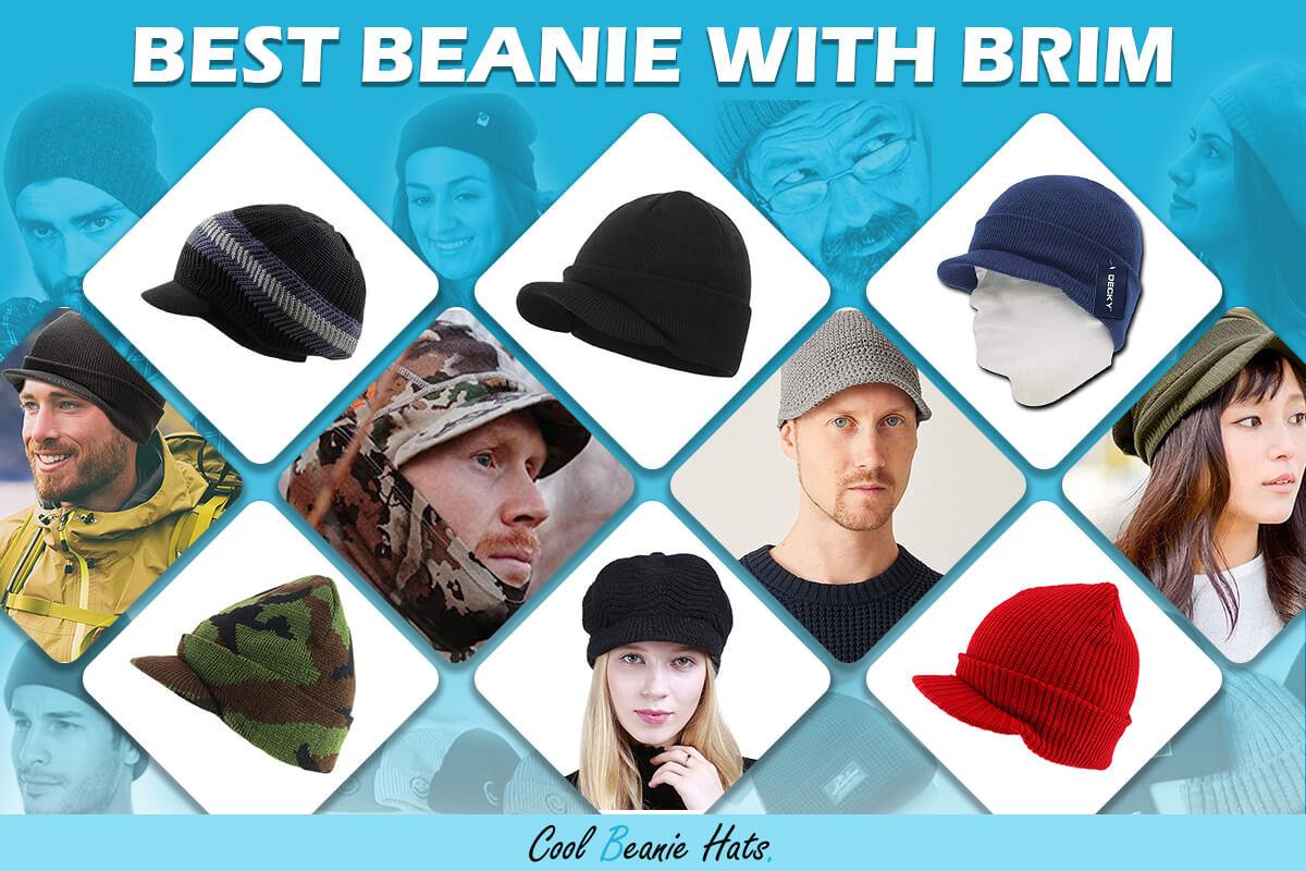 best beanie with brim