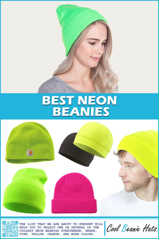 best neon beanies