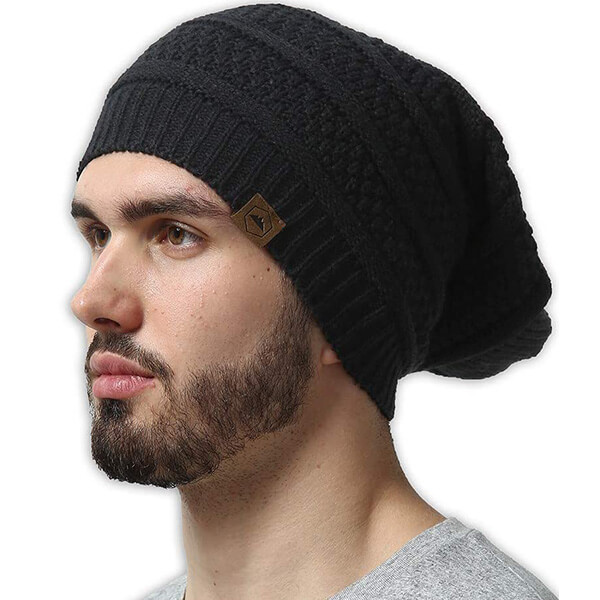 Knit to Fit Men's Slouchy Beanie