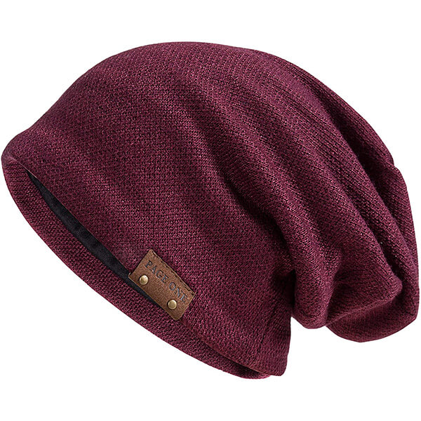 PAGE ONE Slouchy Oversized Beanie