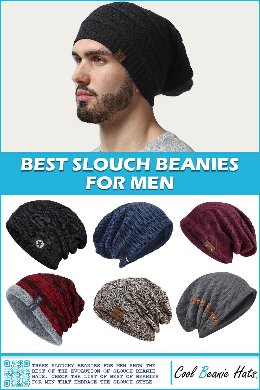 best slouch beanie hats for men