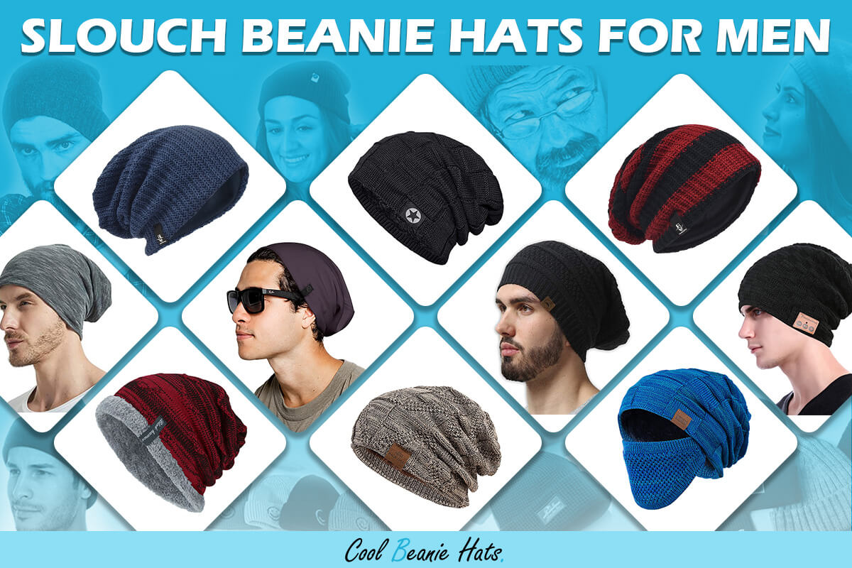 slouch beanie hats for men