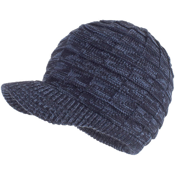 Warm Stylish Winter Hats with Visor