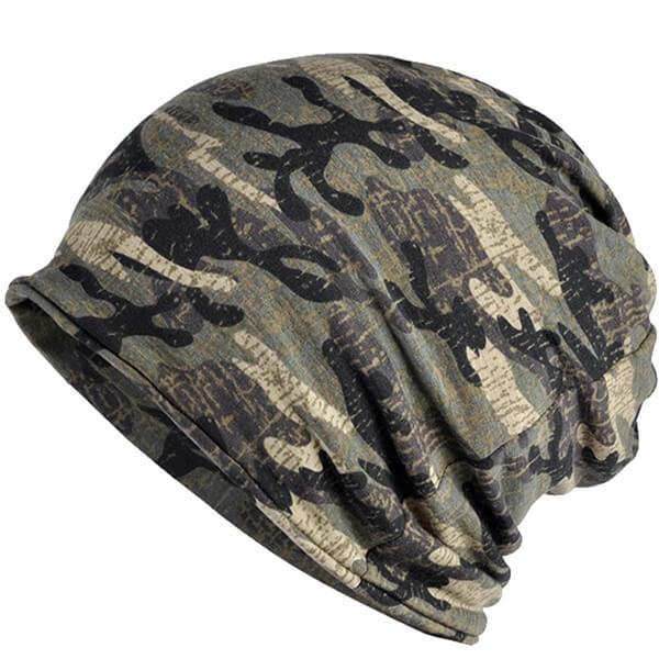 Camouflage Summer Beanie Hat