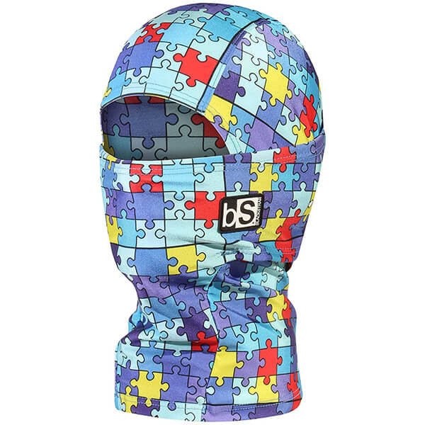 Puzzle Kid's Winter Face Mask