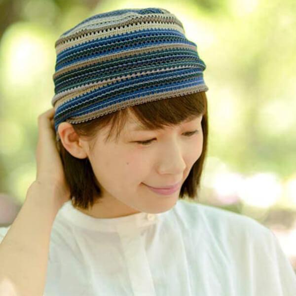 Slouchy Summer Knit Beanie Hat