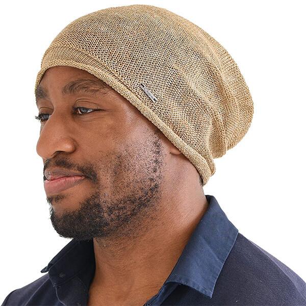 CHARM Linen Summer Beanie Hat