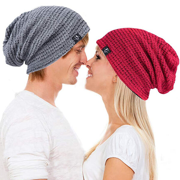 Men's Slouchy Large Knit Beanie