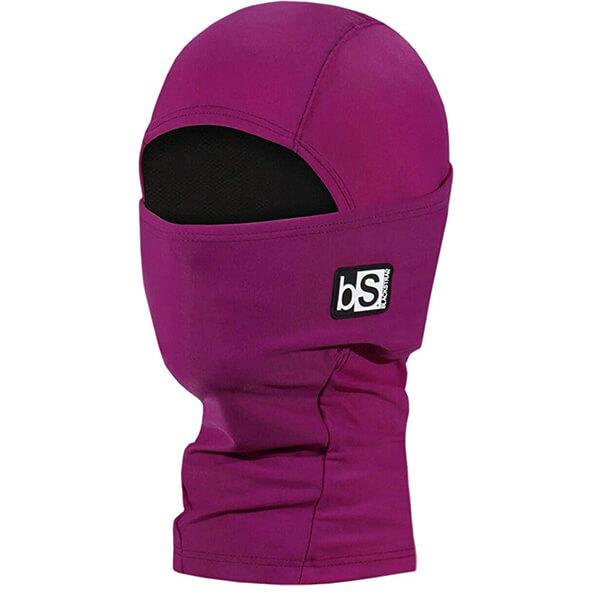 Hibiscus Purple Kid's Winter Face Mask