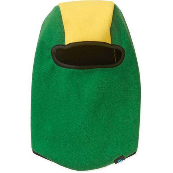 Green-yellow Fleece Kid's Winter Face Mask
