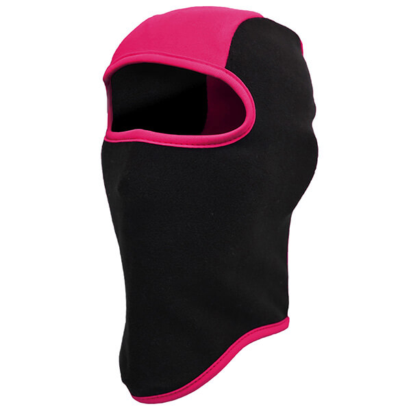 Black-pink Kid's Winter Face Mask
