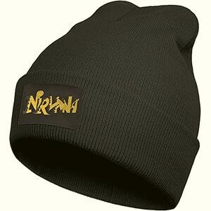 Black Nirvana beanie