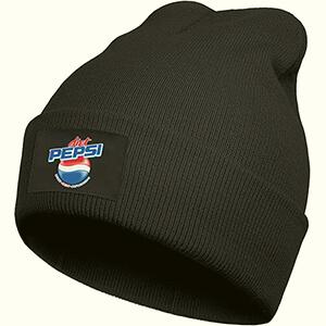 Black Pepsi beanie