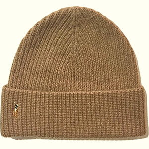Honey brown skater beanie