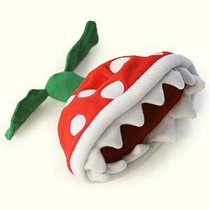 Piranha plant Super Mario beanie for adults