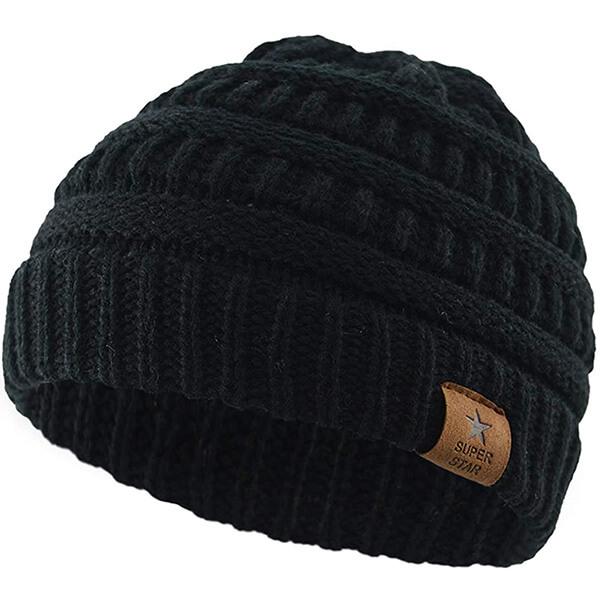Super Star Baby Boys Knit Hat