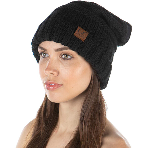 Tight Fitting Slouchy Beanie