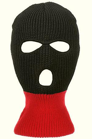3-Hole Full Face Cover Ski Mask