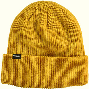 Gold yellow skater beanie