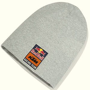 Long Red Bull Racing beanie with a gentle texture