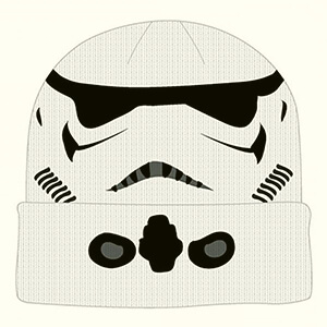 White Stormtrooper all over Star Wars beanie