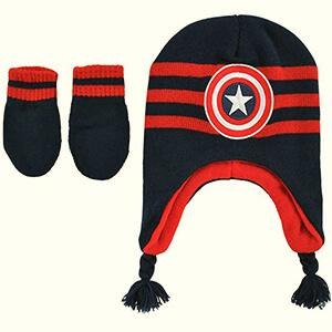 Captain America infant boy's beanies