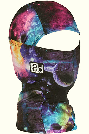 Space galactic kid's balaclava