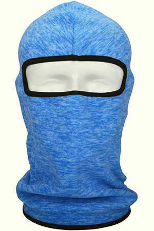 Windproof Ski winter face mask with black lining