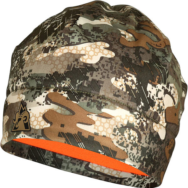 Camouflage Reversible Fleece-lined Beanie