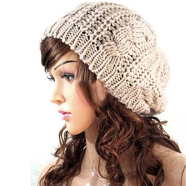 Crocheted Casual Beanie
