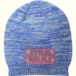 Sky Blue-pink women's Star Wars beanie