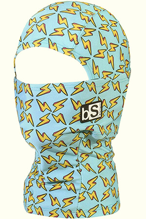 Lightning bolts kid's balaclava