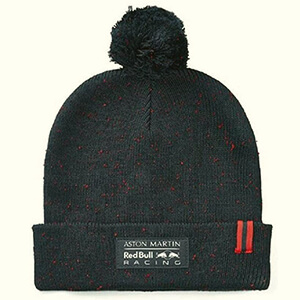 Navy with red dots Red Bull Racing beanie