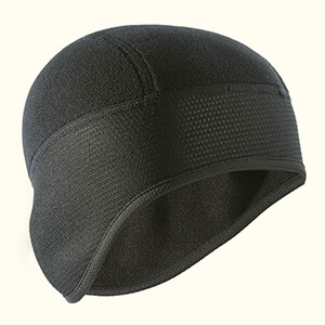 Two-piece black thermal winter mask