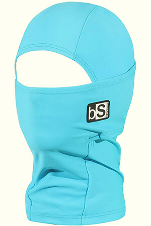 Light blue kid's balaclava