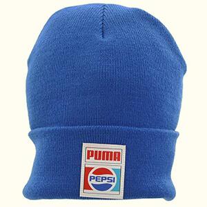 Casual blue Pepsi beanie