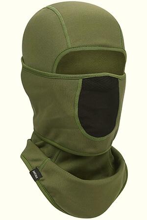 Green-black winter mask